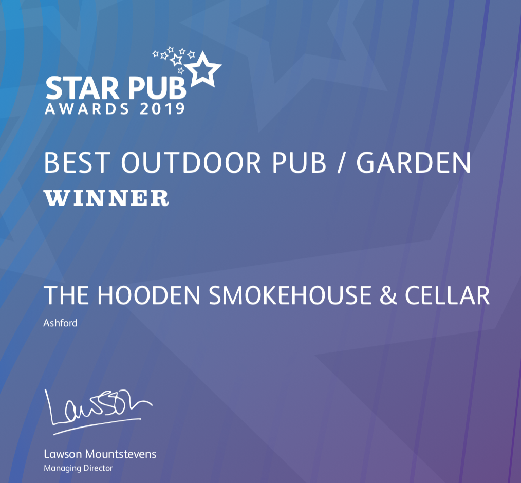 A traditional English pub with affordable food real ales and a huge garden., Home, Hooden Smokehouse & Cellar, Hooden Smokehouse & Cellar